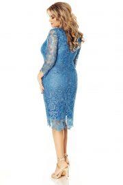 rochie-albastra-plus-size-arella-