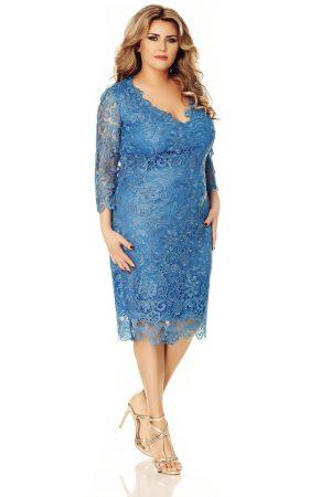 rochie-albastra-plus-size-arella