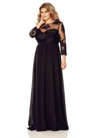 rochie-neagra-plus-size-elissa