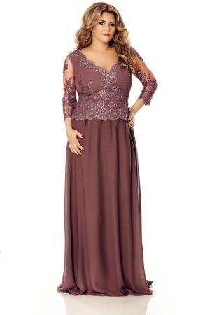 rochie-plus-size-rose